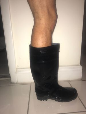 Rubber waterproof boots for Sale in Miami, FL