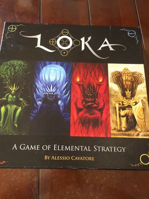 LOKA: A Game Of Elemental Strategy by Alessio Cavatore for Sale in Los Angeles, CA