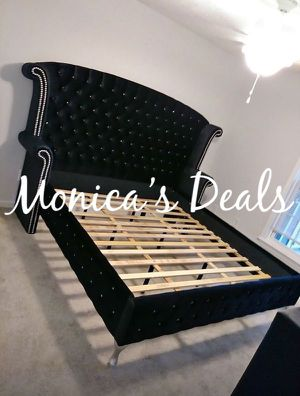 King size bed frame $650 for Sale in Whittier, CA