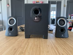 Logitech 3 piece speakers for Sale in Columbus, OH