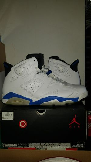 Air jordan sport blue 6 sz 13 for Sale in Garfield Heights, OH