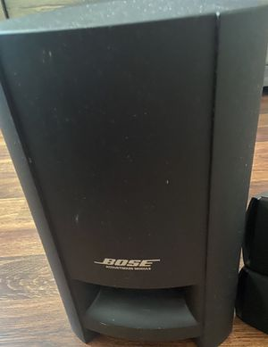 BOSE CineMate Series-II Home Theater Speaker System Complete for Sale in Avondale, AZ