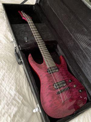 Seven string neck-through Guitar & HARD CASE for Sale in Vallejo, CA