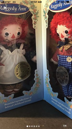 Raggedy Ann and Raggedy Andy. for Sale in League City, TX