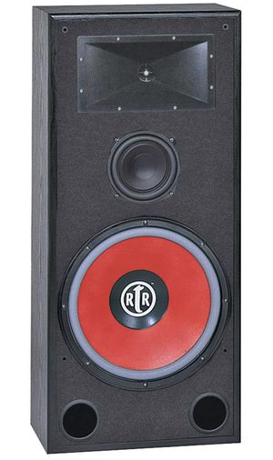 BIC AMERICA RTR-EV15 43Inch 3-Way Eviction Series Bi-Ampable Floor Speaker with High-Eff for Sale in Ontario, CA