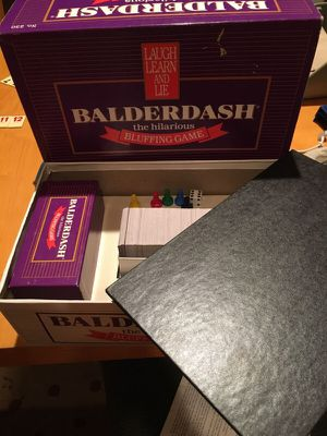 Balderdash board game for Sale in Raleigh, NC