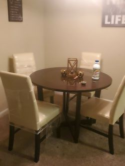New Leather Sleeper Couch And New Leather table for Sale in Nashville,  TN