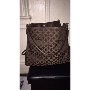 Authentic COACH WOMEMS BROWN TOTE BAG for Sale in New York, NY