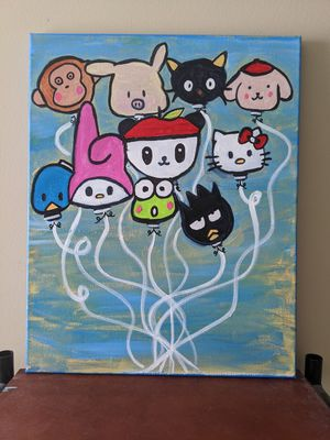 Hello Kitty : canvas art for Sale in Charlotte, NC