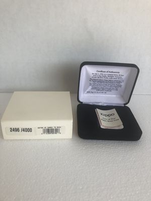 Elvis Presley He Dared to Rock Limited Edition Zippo 2496 4000 (Empty Box Only) for Sale in Tampa, FL