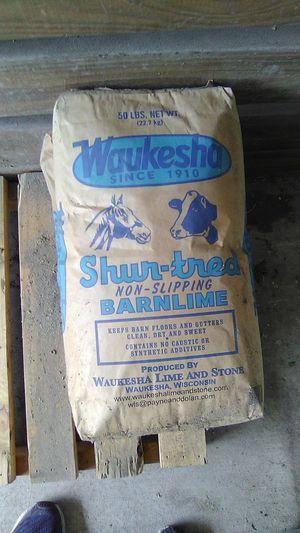 Waukesha barn lime for Sale in Bradenton, FL