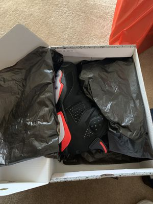 Air Jordan 6 infrared size 9 brand new w/ receipts for Sale in Alexandria, VA