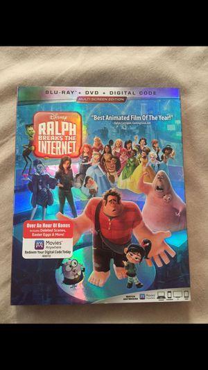 Disney Ralph Breaks the Internet Blu-ray for Sale in Clovis, CA