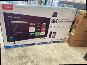 """TCL/Roku 55"""" 555403 55"""" 4K UHD Ro OLWCD for Sale in Dallas, TX"""