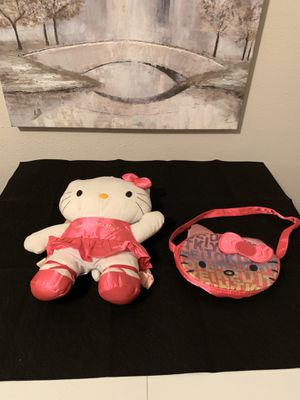 Hello Kitty Backpack Purse Set for Sale in Houston, TX
