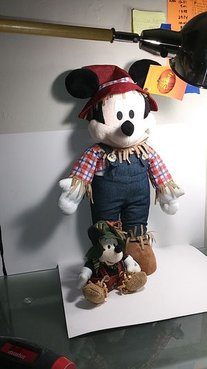 Walt Disney Halloween Mickey Mouse scarecrows for Sale in Manheim, PA
