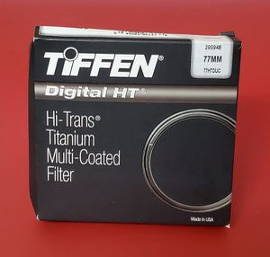 Tiffen 77mm Digital HT Multi Coated UV Protector Filter for Sale in San Diego, CA