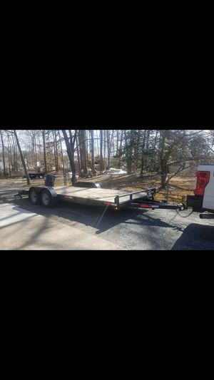 Trailer for car 10 ton 2016 good condition for Sale in Woodbridge, VA