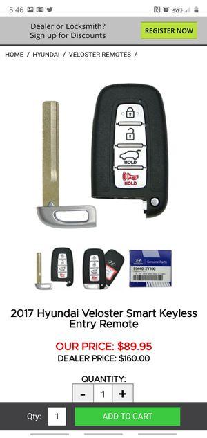 Hyundai key fob for Sale in Austin, TX