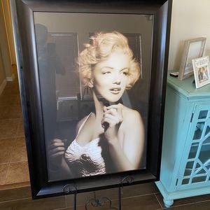HUGE Marilyn Monroe Framed Art for Sale in Windermere, FL