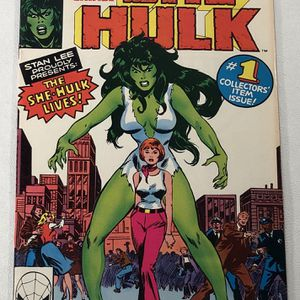 Savage She-Hulk # 1 Marvel Comics 1st App Disney TV Show Key for Sale in Byron, CA