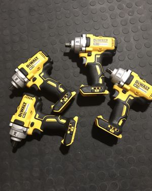 New Dewalt impact wrench 1/2 tool only & 140 each for Sale in Orlando, FL