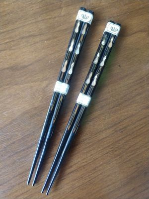 New Never Used Vintage Abalone Inlay Chopsticks for Sale in Gulfport, FL