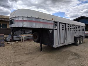 CATTLE TRAILER for Sale in Victor, CA