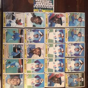 Topps Expos 1979 Baseball Cards for Sale in St. Charles, IL