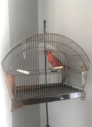 Hendryx Bird Cage w/ Metal Stand for Sale in Cincinnati, OH