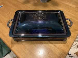 Silver serving dish/tray for Sale in Lake Worth, FL