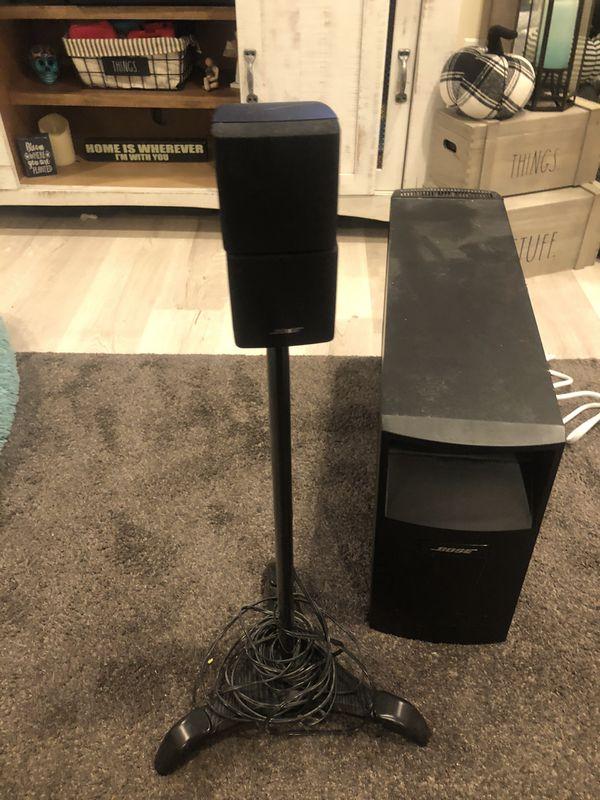 Bose speaker stands