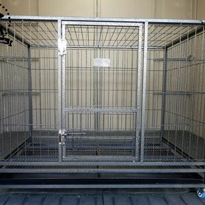 """NEW! 43"""" Foldable Heavy-Duty Dog Cage (Kennel) (Crate) for Sale in Moreno Valley, CA"""