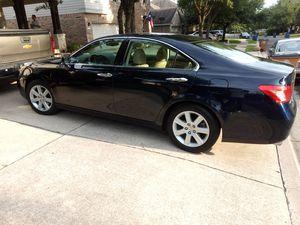 2007 Lexus es350 fully loaded for Sale in Austin, TX