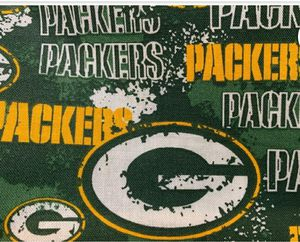Green Bay Packer fabric for Sale in Dixon, MO