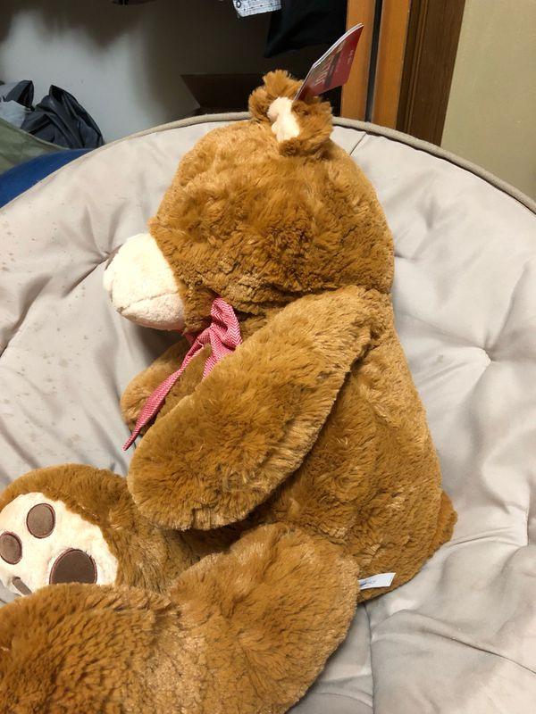 Really soft stuffed bear for kids