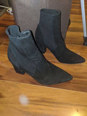 Black Steve Madden Booties 9.5 for Sale in Douglasville, GA