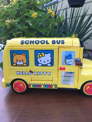 Hello kitty school bus for Sale in Portland, OR