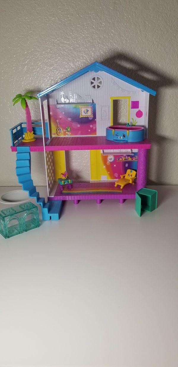 Shopkins house and shopkins, adorable toys