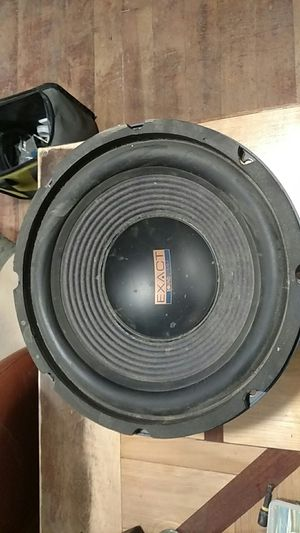 """Soundsteam Exact 12"""" subwoofer for Sale in Renton, WA"""