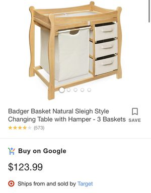 Changing table for Sale in Allison Park, PA