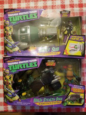 Teenage mutant ninja turtles toys for Sale in Los Angeles, CA