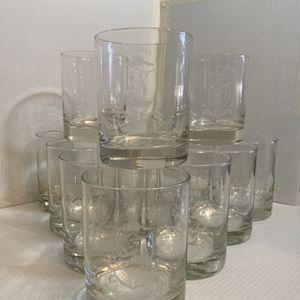 Vintage 13 Colonies Rocks Glasses for Sale in Pike Road, AL