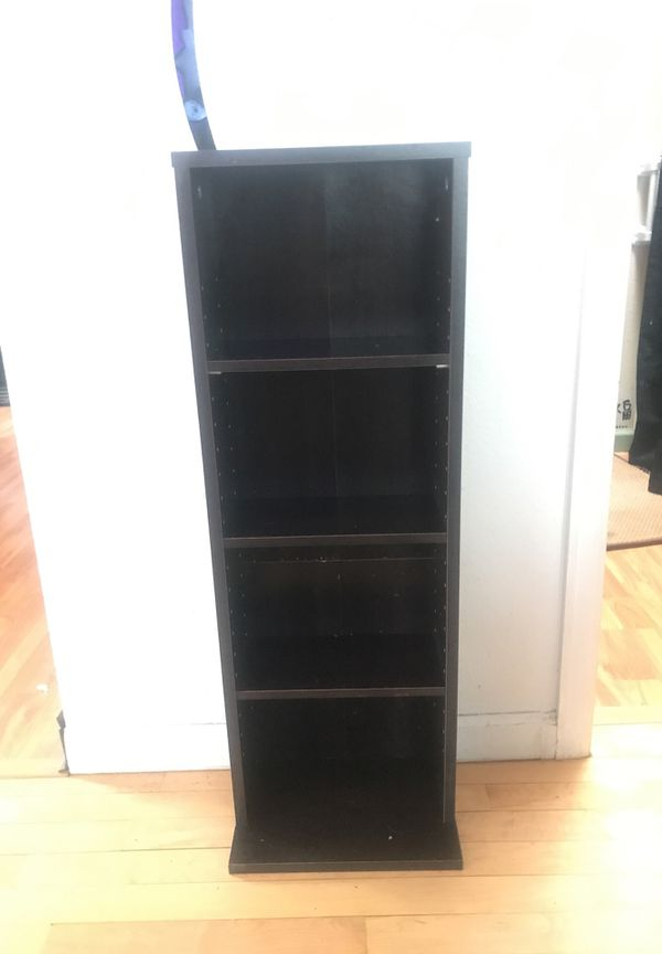 Brand new, never used DVD, video game, book shelf storage tower