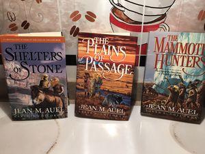 3 HTF Hardbound Books Jean M Auel - Prehistoric Stories Series for Sale in Reading, PA