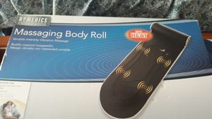 MASSAGING BODY ROLL WITH HEAT VARIABLE INTENSITY VIBRATION for Sale in Piedmont, SC