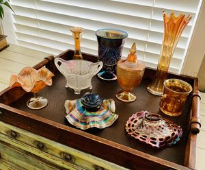 Antique, Vintage Carnival Glass 9 pieces $20-$100 for Sale in Camas, WA