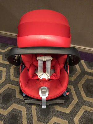 Cybex Platinum Cloud Q Infant Car Seat with Load Leg Base for Sale in Brooklyn, NY