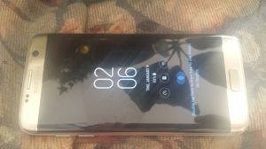 Samsung Galaxy S7 Edge Verizon/T-Mobile/MetroPCS/AT&T/Cricket Phone New Without Box Clear ESN Platinum for Sale in Glendale, AZ