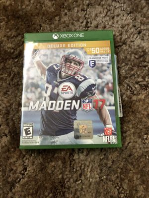 Madden 17 Xbox One for Sale in Richmond, CA